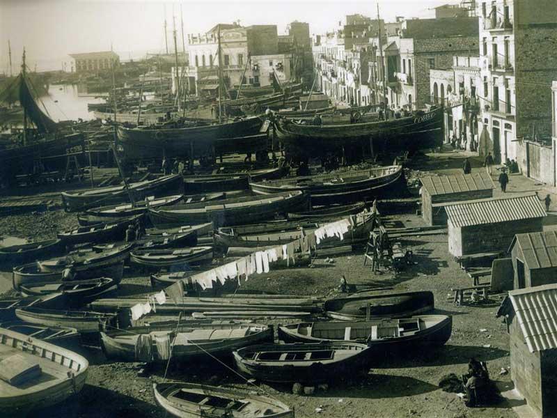 El Serrallo 1900